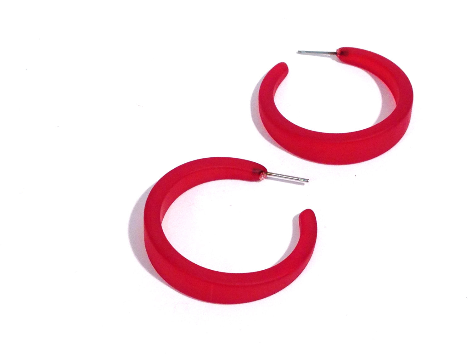 cherry red lola hoops
