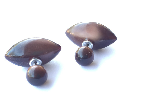 chocolate brown 360 studs