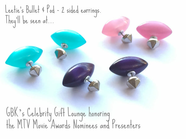 2 sided earrings