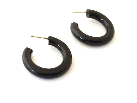 black tube hoops