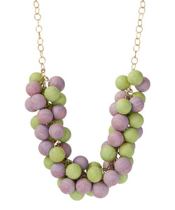 sherbert pastel statement jewelry