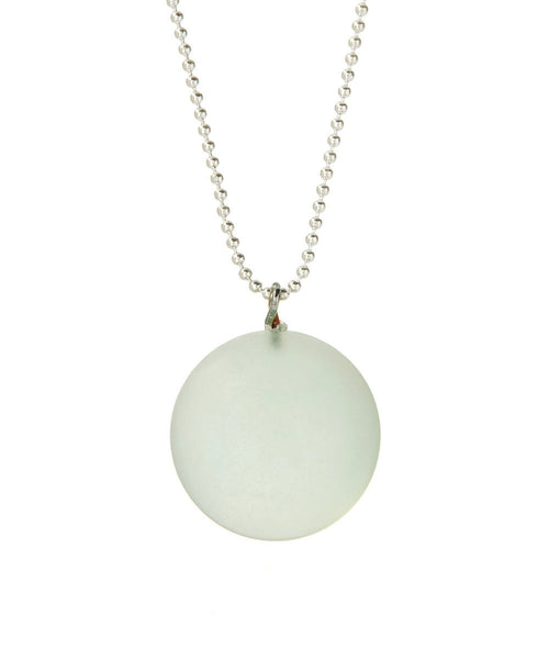light green necklace