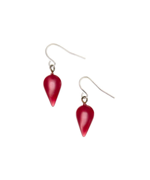 pink moonglow earrings drops