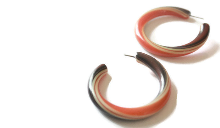 stripe tube hoops