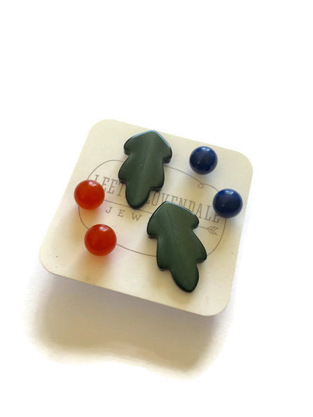 lucite stud collection