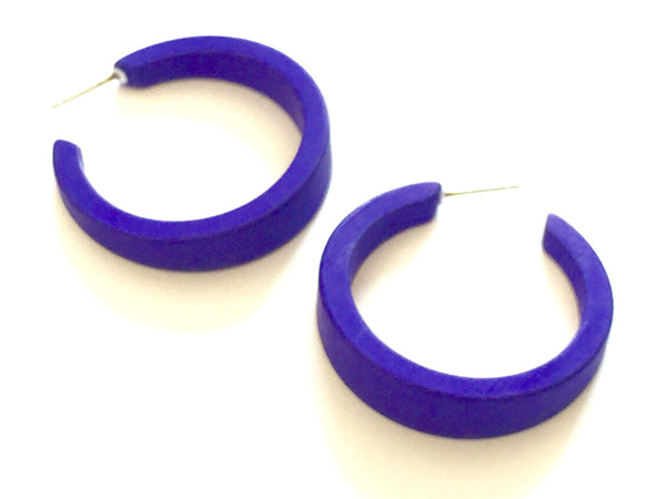 cobalt blue lola hoops