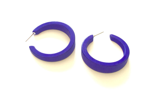 deep blue hoops