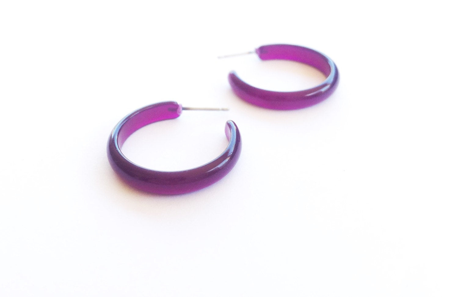 purple moonglow hoops