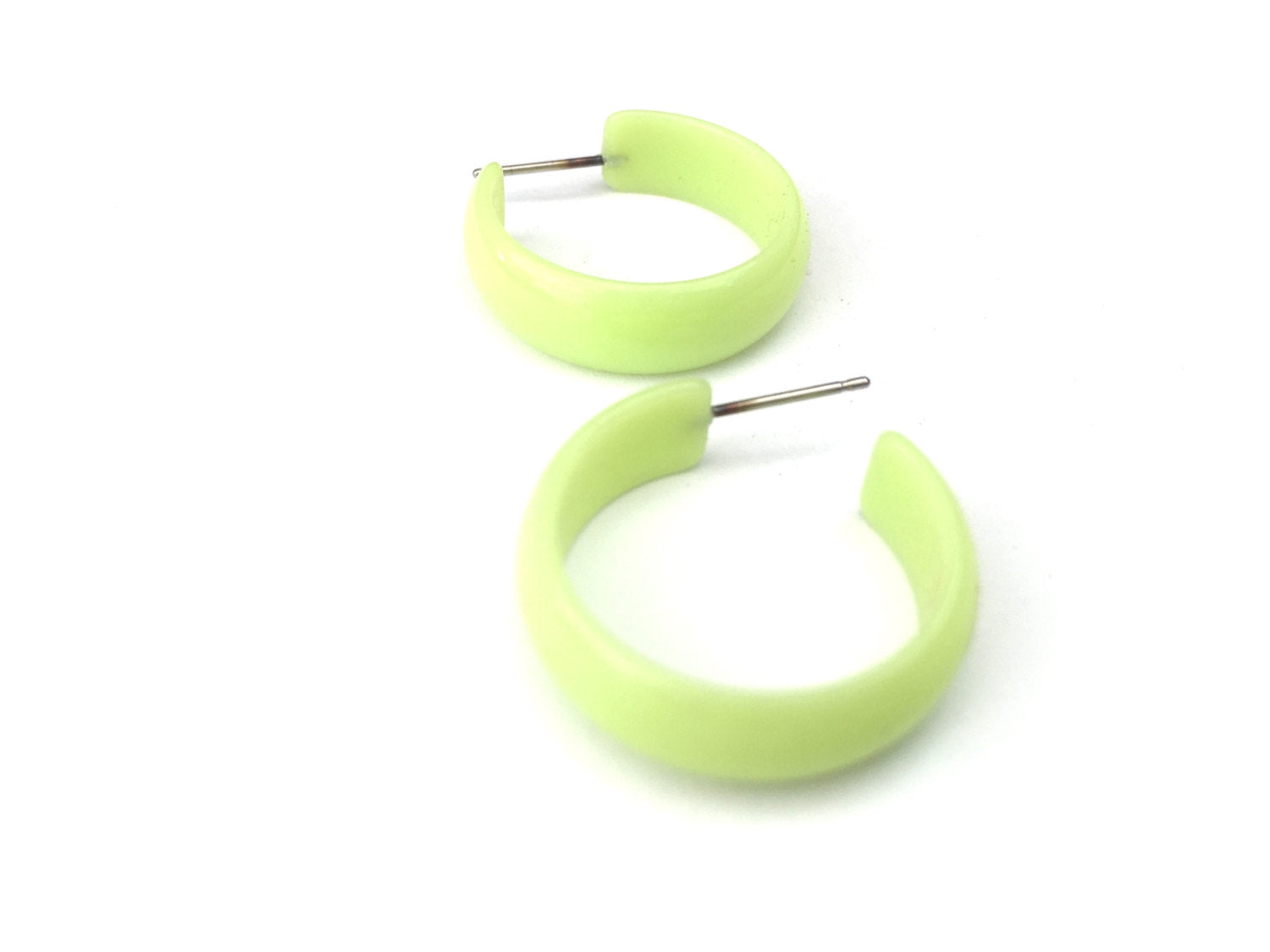 lime simple hoops