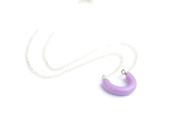 lavender lucky necklace