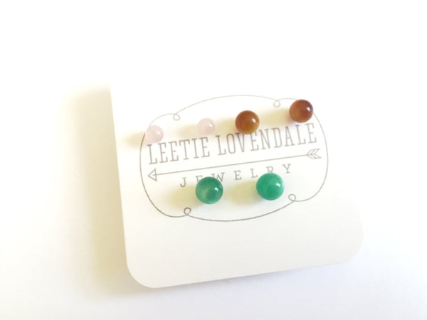 sustainable vintage studs