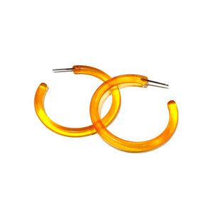 large orange tube hoops