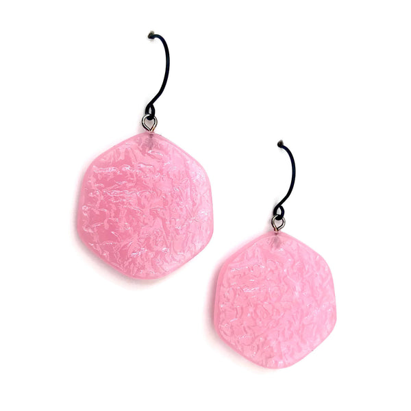 light pink earrings
