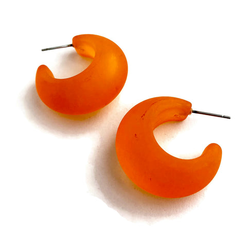 orange snail hoops