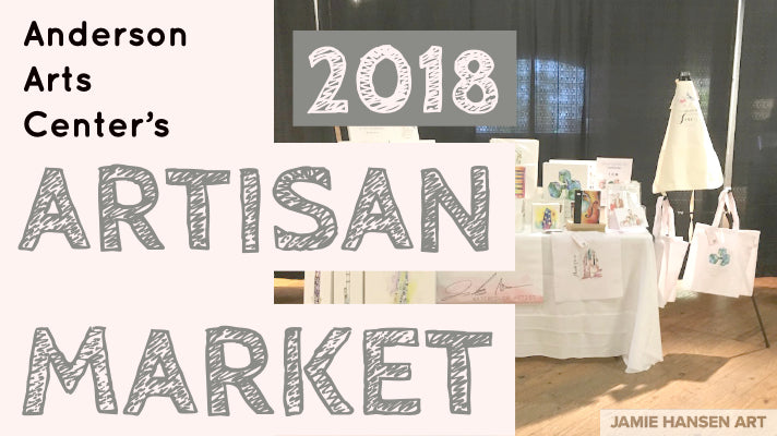 2018 Anderson Arts Center Artisan Market Recap