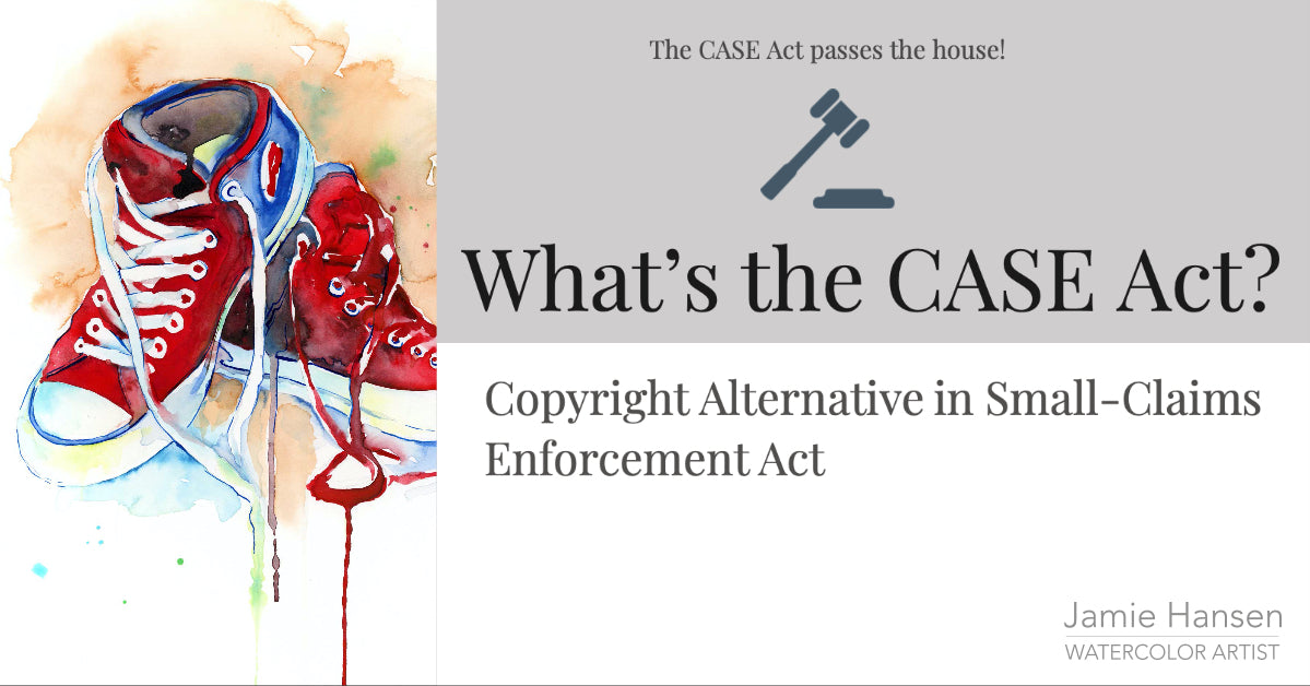 The CASE Act passes the house! Here's more about the CASE act.