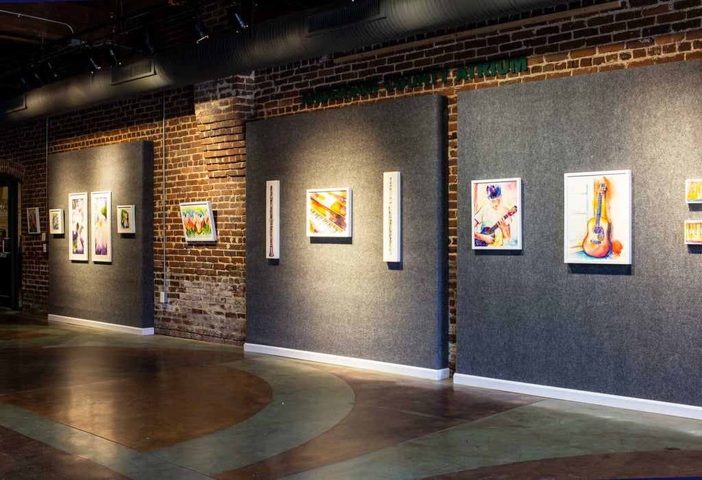 Final Week of my show at the Anderson Arts Center