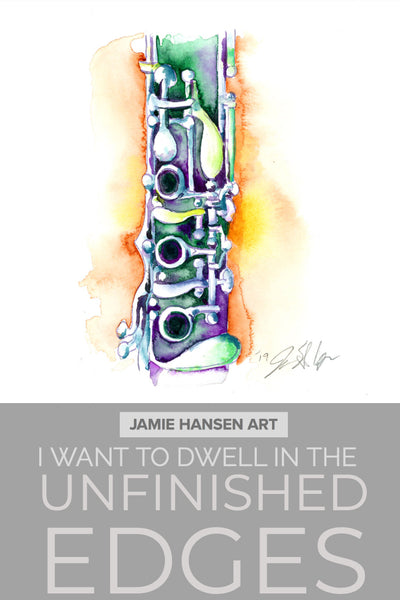 clarinet by jamie hansen