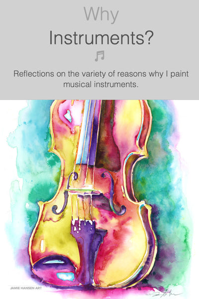 Why instruments?
