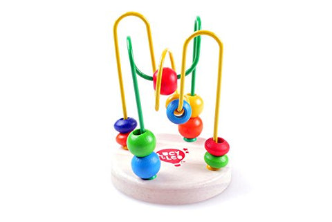 Puzzle Bead Maze Educational Wooden Baby Toy