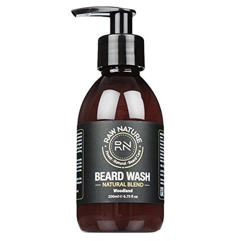 RAWNATURE® Beard Shampoo – Premium Luxury Grade 200ml