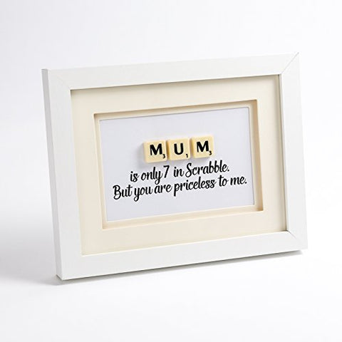 MUM scrabble art. Perfect For Mother's Day, her Birthday or any day