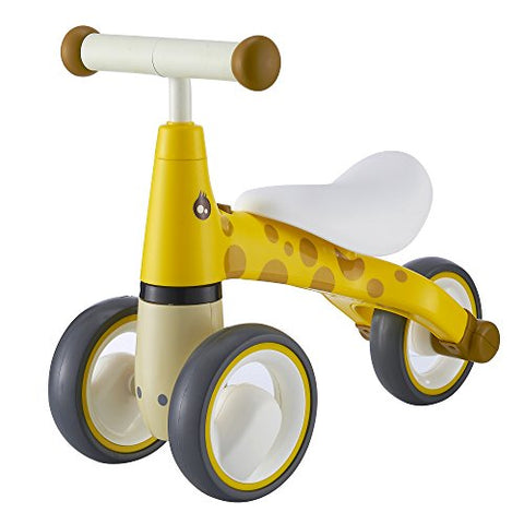 BEKILOLE Baby Sliding Bike Ride On Toy Bikes Bicycle Children No Foot Pedal Three Wheels, Toddlers 1 to 3 Years, Zebra - BETTIKE.com