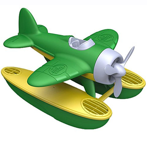 Green Toys Seaplane (Green Wings) - Bath and Water Toys - BETTIKE.com