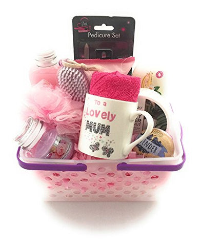 Birthday Thank You Mothers Day Pamper Hamper Gift Basket - BETTIKE.com