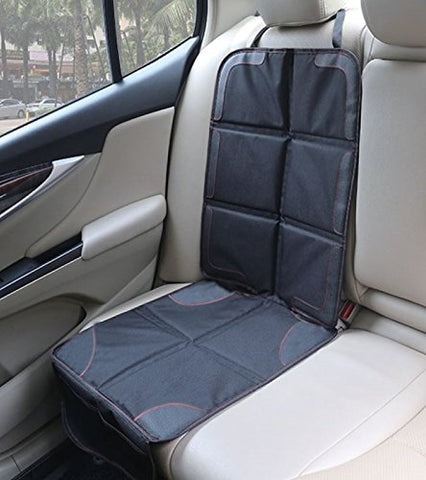 Car Seat Protector / Heavy Duty Protects Upholstery Padded Cover / Organiser Pockets / Universal size / Ideal for Baby and toddler car seats / Anti-Slip / Suits Forward or Rear facing child seat liner - BETTIKE.com