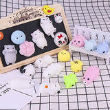 18 Pack Kawaii Squishies Toys Squishy Toys Squishy Packages Animal Squishy Mini Stress Toys - BETTIKE.com