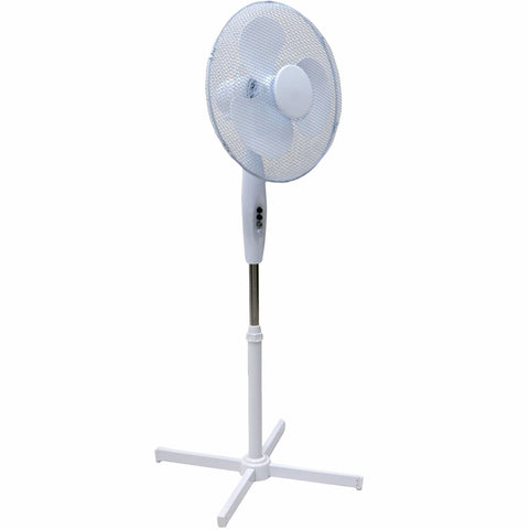 "Oypla Electrical 16"" Oscillating Pedestal Electric Cooling Fan"