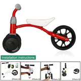 Balance Bikes OUTAD Children Scooter Baby Walker Three Wheel without Foot Pedal Driving Bike Gift Strengthen Coordination - BETTIKE.com