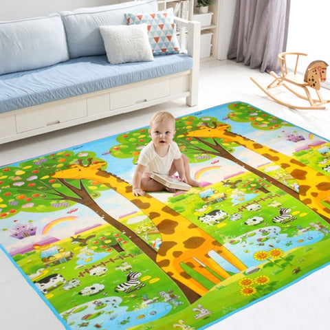 Baby Play Mat child activity foam floor soft kid eductaional toy gift gym crawl - 200 x 180cm - BETTIKE.com