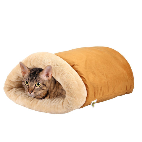 Cat Cave - A Four-Way Snuggly Bed and Hideaway for Cats - BETTIKE.com