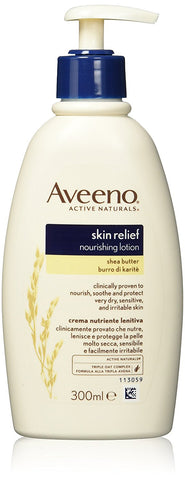 Aveeno Skin Relief Nourishing Lotion with Shea Butter 300ml - BETTIKE.com