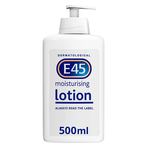 E45 Dermatological Moisturising Lotion, 500ml - BETTIKE.com