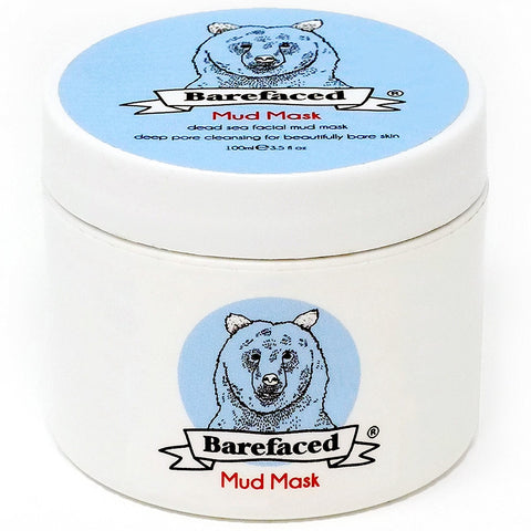 BeBarefaced Dead Sea Mud Face Mask - Facial Anti Ageing Blackhead & Acne Treatment For All Skin Types - Naturally Experience The Best Skin Possible - BETTIKE.com