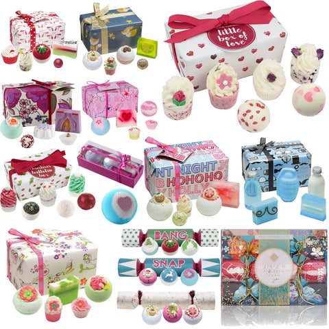 Bomb Cosmetics Bath Bomb Gift Sets Bath Blaster Bang Cracker Marbles Fizzes Mini Bombs - BETTIKE.com