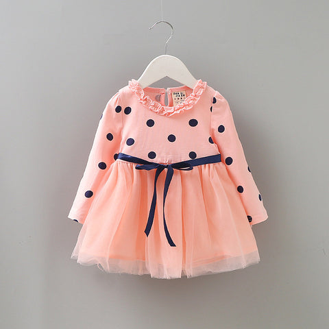 Baby Girl Dress Autumn Long Sleeve Dress For Girls Baby - BETTIKE.com