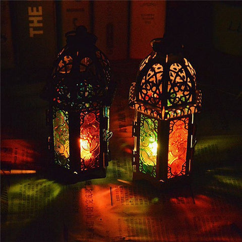 1 x Classic Moroccan Decor Candle Holders - BETTIKE.com
