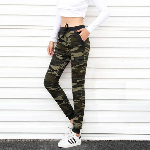 Camouflage Trousers - Love To Impress Collection - BETTIKE.com