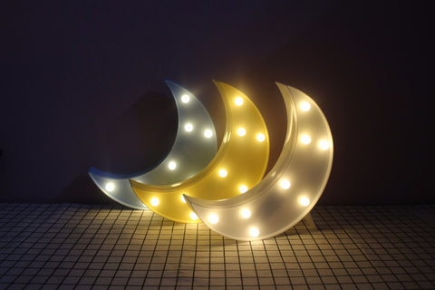Night Light Marquee Sign Star Cloud Desk Lamps