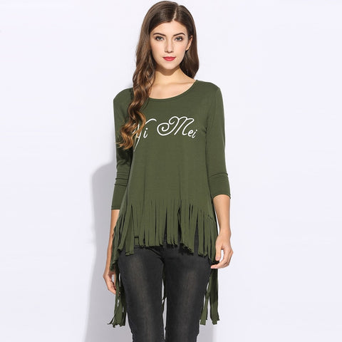 Army green T Shirt - Love My Tee Collection - BETTIKE.com