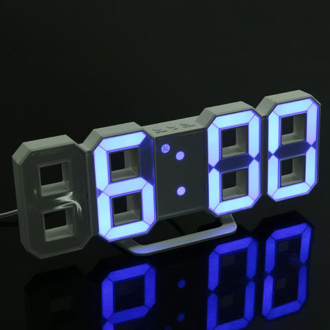 Digital LED Table Clock Brightness Adjustable with USB Cable - BETTIKE.com