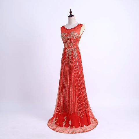 Floor Length Evening Party Dress - Love Bettike Collection