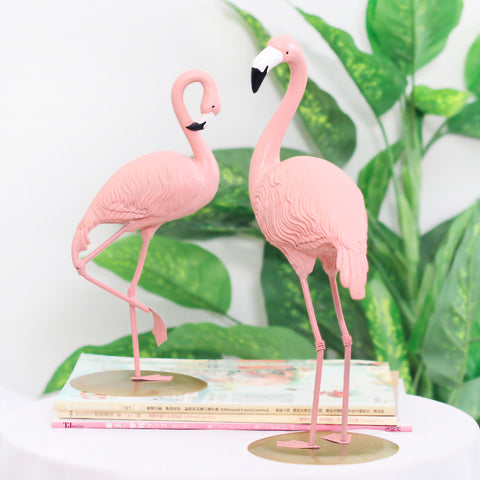 Flamingo Statue Modern Sculpture Home Decor