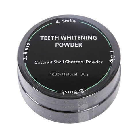 Coconut Shell Activated Carbon Nature Teeth Whitening Toothpaste Eliminate Oral Odor Tooth Cleaning Teeth - BETTIKE.com