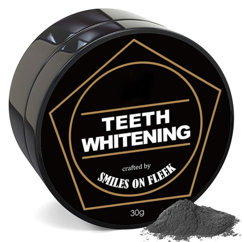 Activated Charcoal Whitening Powder toothpaste Black Activated carbon whitening powder cleaning Powder - BETTIKE.com