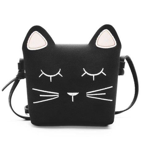 Cute Cat Girls Purse handbag Children Kid Cross-body shoulder bag - BETTIKE.com
